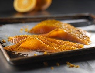 Smoked Salmon side with Orange, Fennel Pollen & Dill (chilled)
