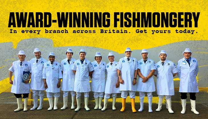 Meet our award winning fishmongers