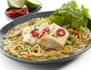 MSC Atlantic Haddock with Soba Noodles & Vegetables in a Miso Broth (skinless, boneless)