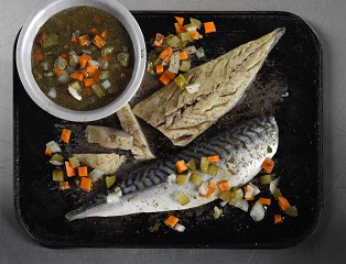 Sweetcure Pickled MSC Mackerel (chilled)